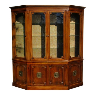 John Widdicomb Lighted China Cabinet For Sale