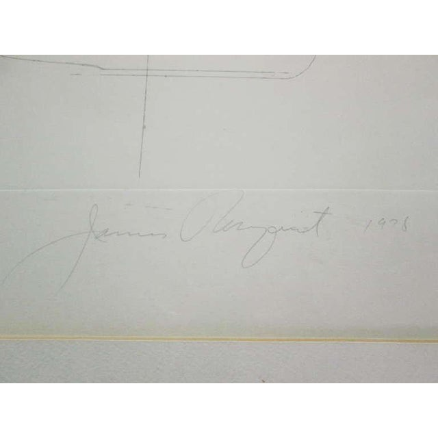 """Federal Spending"" by James Rosenquist ed. 18/78 - Pencil Signed For Sale In New York - Image 6 of 8"