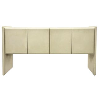 1970s Minimalist Milo Baughman for Thayer Coggin Lacquered Buffet/Sideboard For Sale