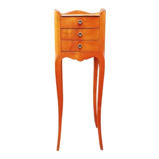 1960s Vintage French Louis XV Style Nightstand For Sale