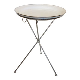Contemporary Collapsing Tray Table For Sale