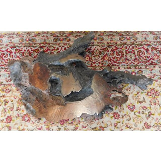 Walnut Driftwood Coffee Table Base - Image 4 of 9