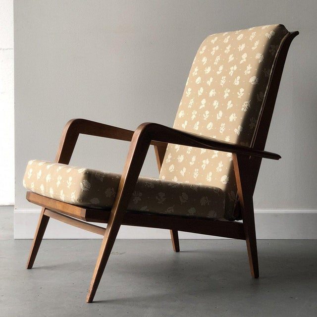 Mid-Century Modern Mid-Century Reclining Chairs - A Pair For Sale - Image 3 of 10
