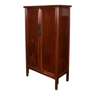 Large Asian Rosewood Tv Cabinet For Sale