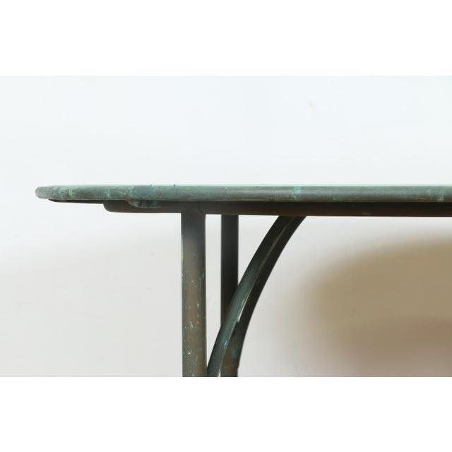 Walter Lamb for Brown Jordan Patio Table For Sale - Image 4 of 7