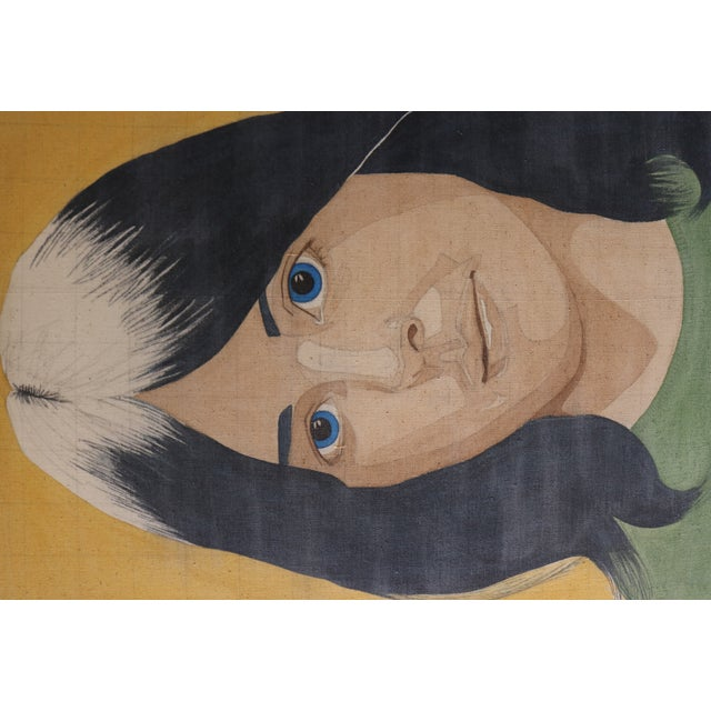 Portrait of a Woman in the Style of Alex Katz - Image 4 of 7