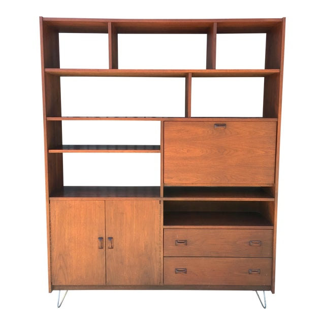 Horner Manufacturing Mid Century Wall Unit - Image 1 of 10