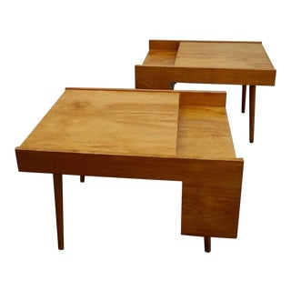 1950s Mid Century Modern Glenn of California Side Tables - a Pair For Sale
