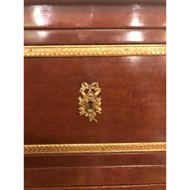 Pair of Bronze Mounted Step Up Commodes in the Russian Neoclassical Style - Image 7 of 10