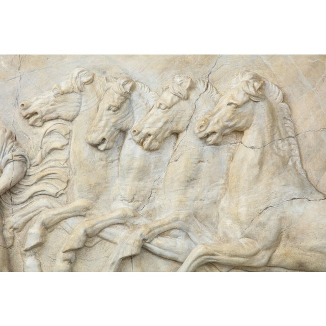Neoclassical Neoclassical Plaster Panel For Sale - Image 3 of 8