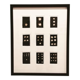 """Into the Void Series 2, No. 1-9"" Framed Collage For Sale"