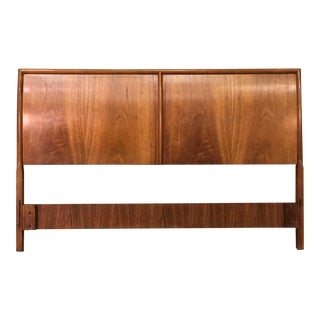 Barney Flagg for Drexel Parallel Mid-Century Modern Full Size Headboard