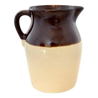 Rustic 2-Tone Farmhouse Jug