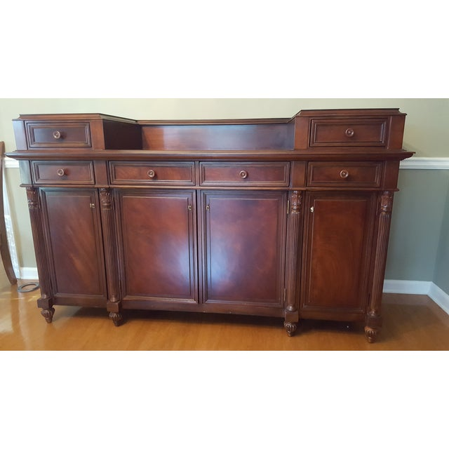 Classic buffet server/console by Ralph Lauren. Great statement piece with impeccable craftsmanship! The sideboard still...
