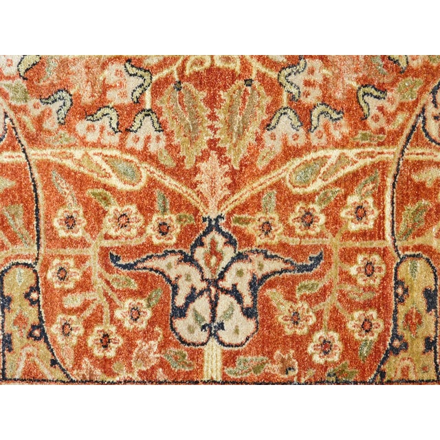 Handmade Indian Rug - 8' x 10' For Sale - Image 4 of 10