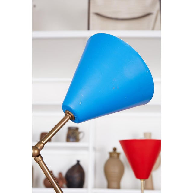 Angelo Lelli Style Triennale Floor Lamp For Sale - Image 10 of 12