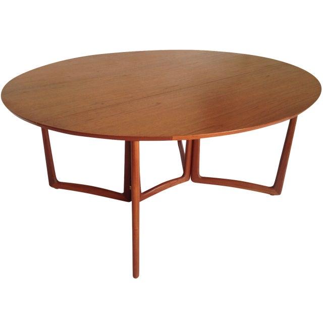 Peter Hvidt & Orla Molgaard Drop-Leaf Table - Image 1 of 9
