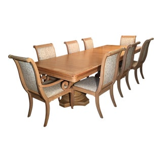 Lexington Double Pedestal Dining Set