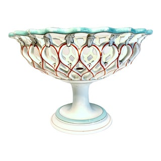 Antique Samson & Cie French Porcelain Neoclassical Centerpiece, Late 19th Century For Sale