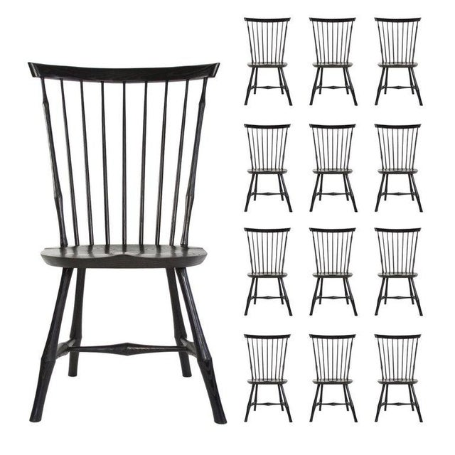 O & G Studio Windsor Dining Chair in Ebony, 25+ Available For Sale - Image 10 of 10