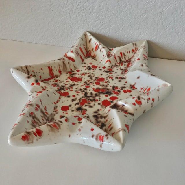 Mid-Century Ceramic Star Ashtray - Image 5 of 7