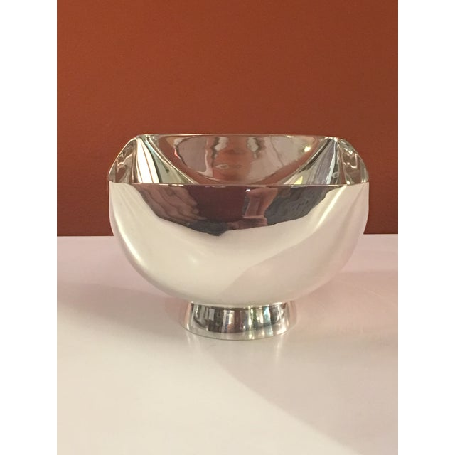Ward Bennett Silverplate Bowl For Sale - Image 12 of 12
