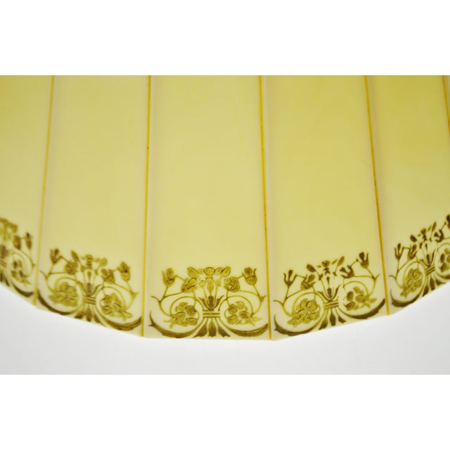 Mid Century Emeloid Lampshade For Sale - Image 4 of 13