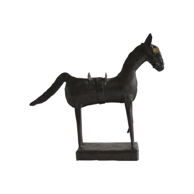 Brutalist Horse Sculpture For Sale