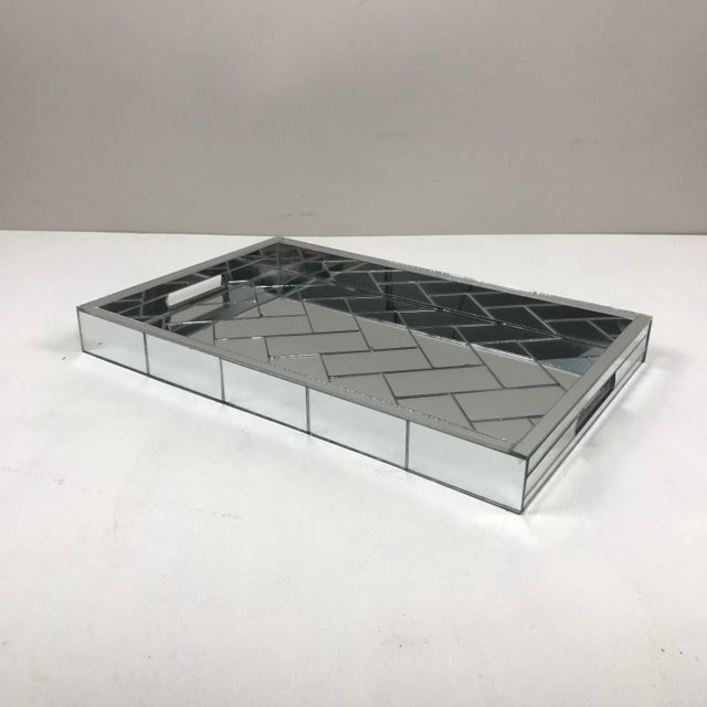 Decorative Mirrored Table Tray - Image 2 of 8