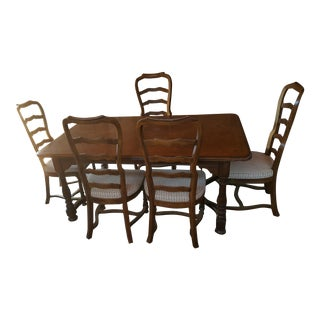 Drexel Heritage Chatham Oaks Dining Set For Sale