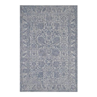 """Gus, Contemporary Gray 3' 11"""" x 5' 10"""" Power Loomed Area Rug For Sale"""