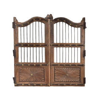 Antique Wood Garden Gate For Sale