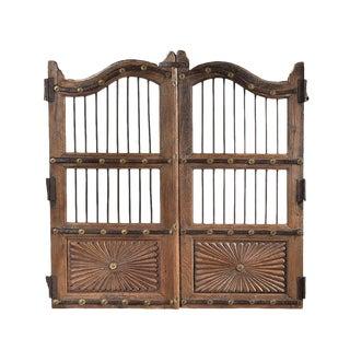 Antique Wood Garden Gate For Sale
