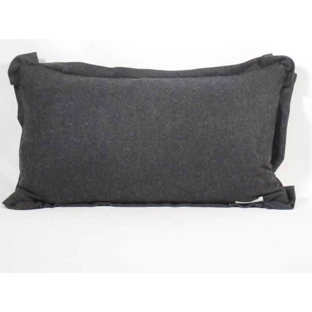 Hollywood Regency Hollywood Regency Bevilacqua Tiger Stripe Velvet Pillow For Sale - Image 3 of 4