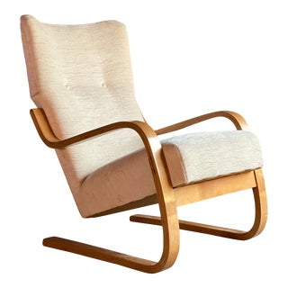Alvar Aalto Model 36 / 401 Cantilever Lounge Chair by Finmar Finland, circa 1940 For Sale
