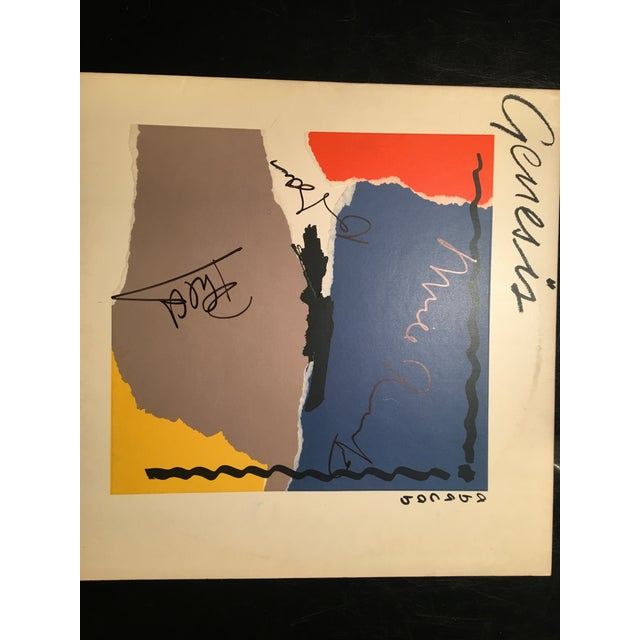 1990s Genesis Autographed 'Abacab' Album Cover For Sale - Image 5 of 6