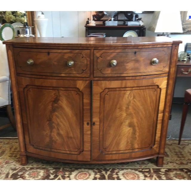 Late 19th Century Antique English Burled Satinwood and Walnut Cabinet For Sale - Image 9 of 9