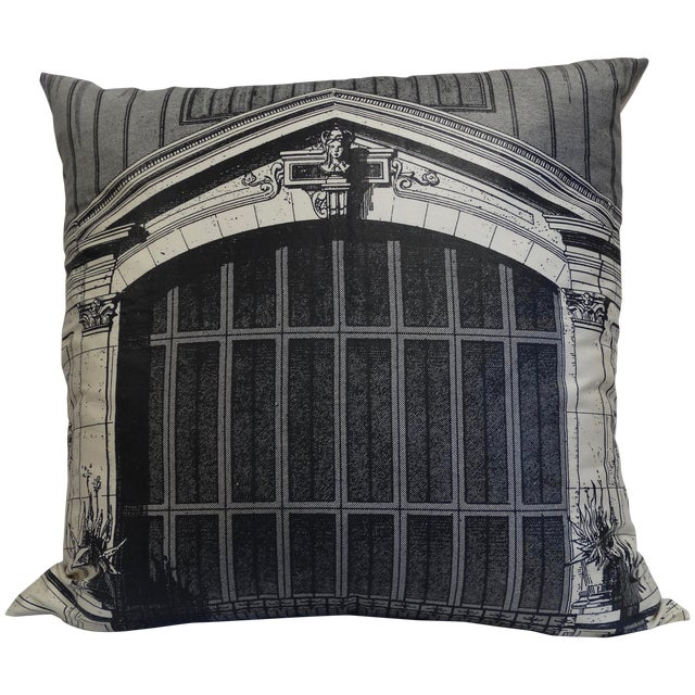 Architectural Print Pillow - Image 1 of 5