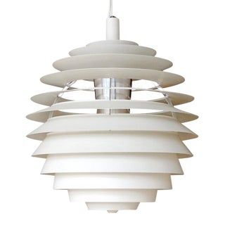 1960s Poul Henningsen Ph Louvre Pendant Light For Sale