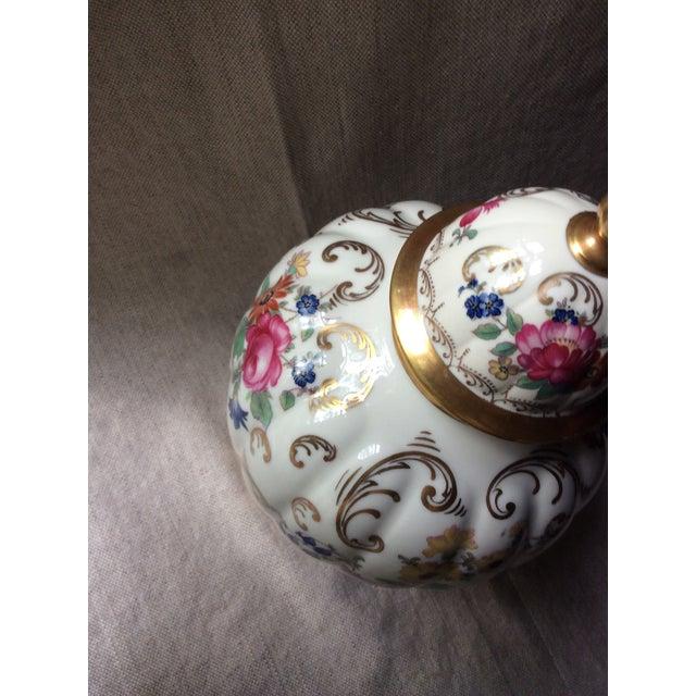 Antique Austrian Porcelain Temple Jar For Sale - Image 6 of 13