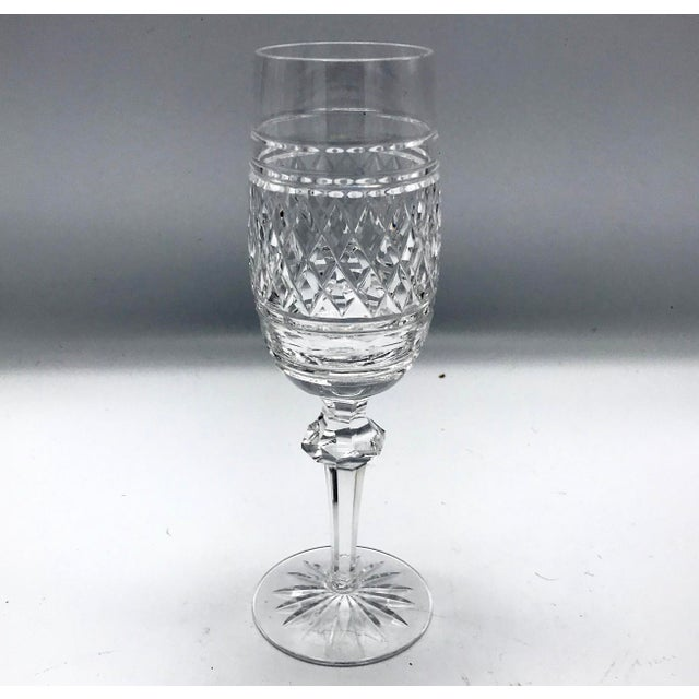 Waterford in Rare Archive Castletown Pattern Crystal Glasses - 18 Pieces For Sale In New York - Image 6 of 11