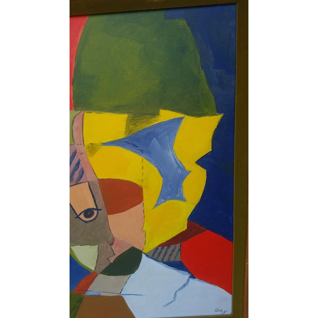 Vintage Abstract Painting From the 1960s - Image 7 of 8