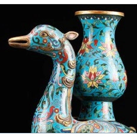 Chinese Chinoiserie Ming Dynasty Vases - A Pair - Image 4 of 4