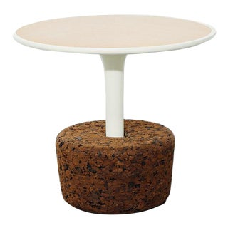 Cork Side Table by DAM, Potugal For Sale