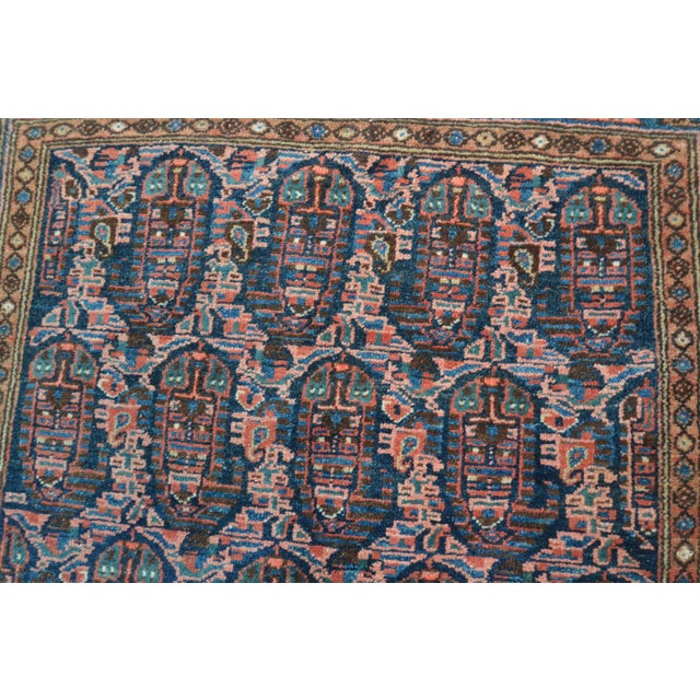 """Paisley Antique Persian Malayer Rug - 3'10"""" X 6'4"""" - Image 6 of 8"""