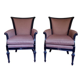 Stickley Special Accents Townsend Chairs - A Pair For Sale