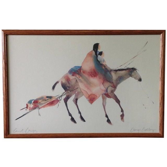 Carol Grigg for Gango Gallery Print For Sale