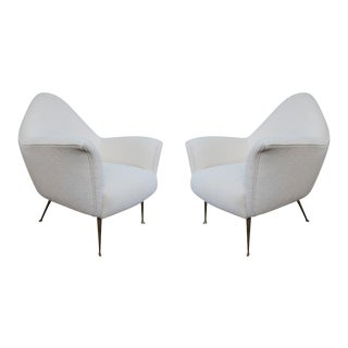 A Pair of Armchairs, Italy 1960