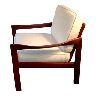 Illum Wikkelso Solid Teak Chair