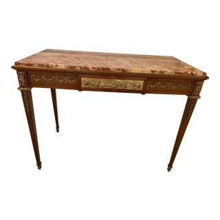 Frecnh Louis XVI Style Writing Table For Sale